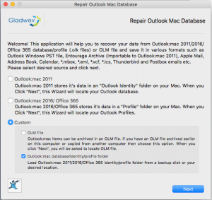 Recover Emails from Time Machine Backup - Repair Outlook Mac Database
