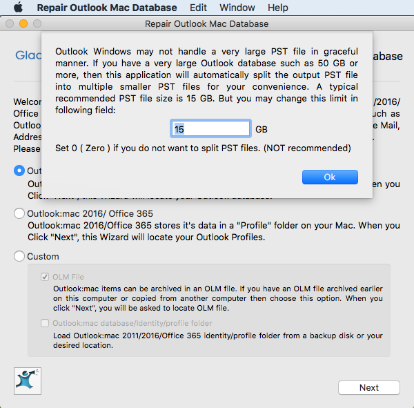 Top 5 reasons for Outlook Mac Database corruption - Repair